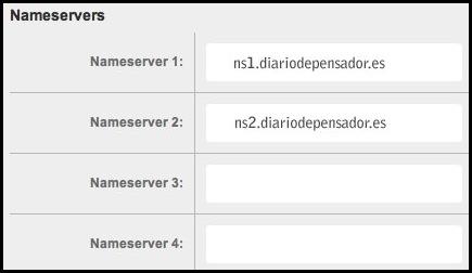 Introducir DNS