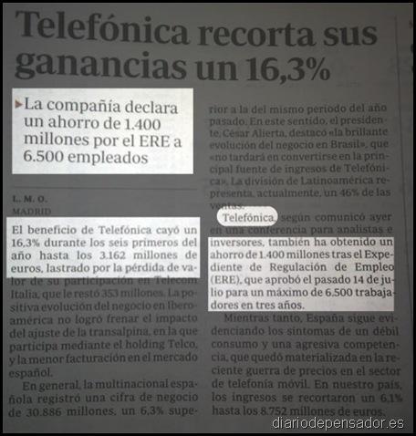 ERE Telefonica