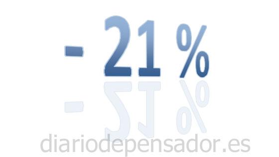 21% de descuento